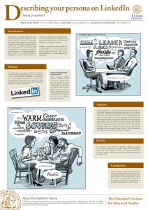 Hur presenterar du dig på LinkedIn?