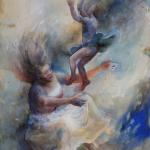 Separation 2, akvarell
