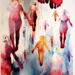 Uppryckandet, akvarell