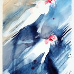 Uppström, akvarell