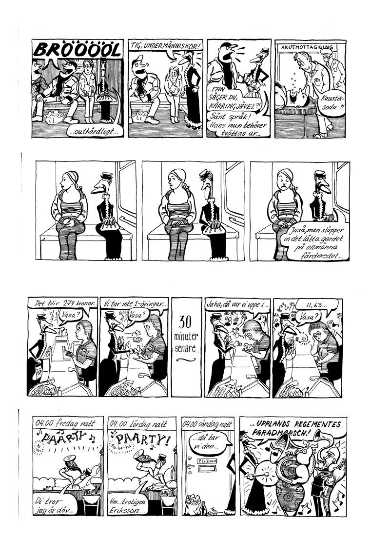 Rakel, gästserie DN, sida 3