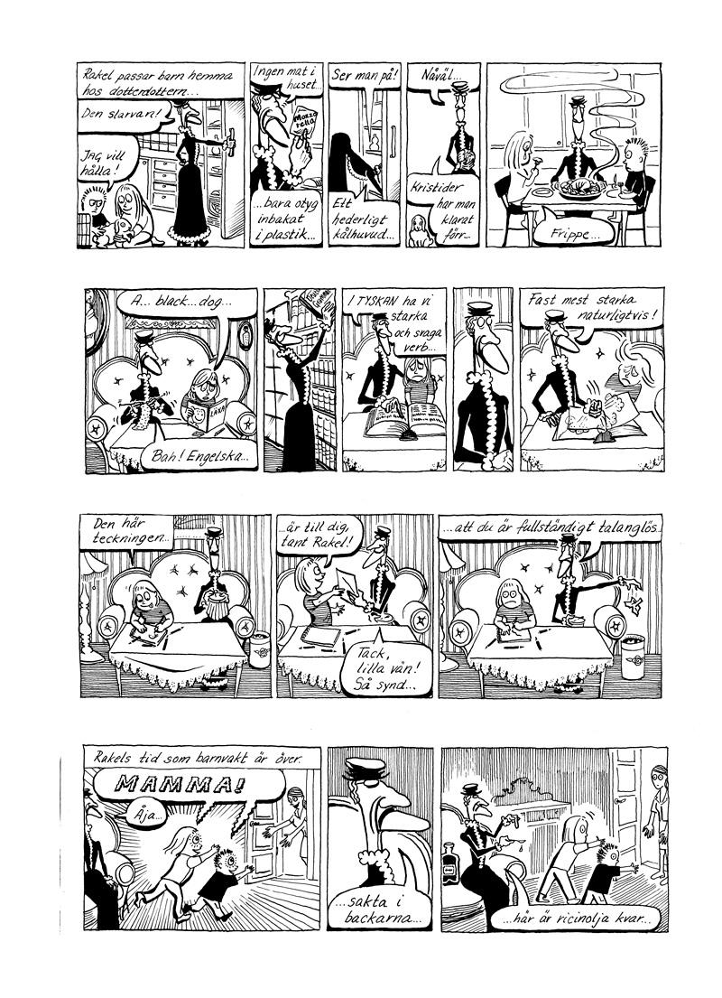 Rakel, gästserie DN, sida 5