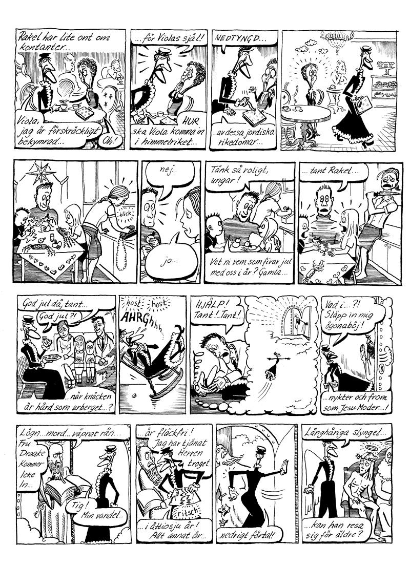 Rakel, gästserie DN, sida 6